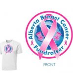 Alberta Breast Cancer Fundraiser Shirts